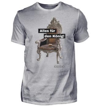 Mett Shirt - König auf dem Thron