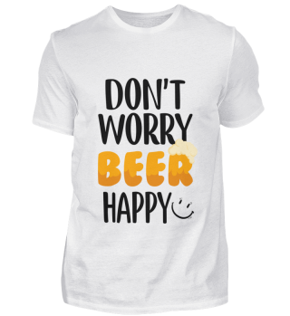 D007-0067P Don't Worry Beer Happy - Post