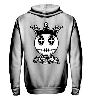 Herren Zip Hoodie Sweatshirt No Joke Ramirez