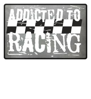Lustige Fußmatte Auto Motorrad Race Fan