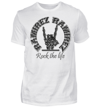 Herren Kurzarm T-Shirt Rock The Life Ramirez