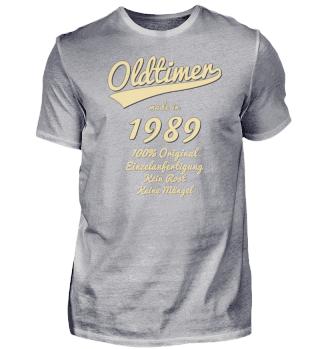 Oldtimer made in 1989