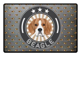 Beagle Fußmatte (60 x 40 cm)