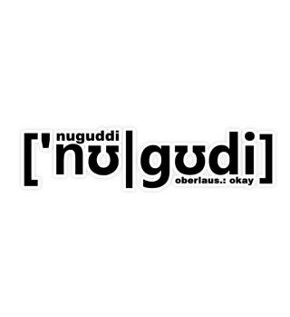 nuguddi - Oberlausitz Aufkleber