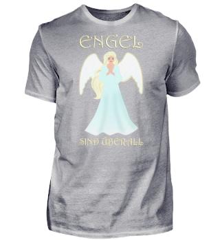 Engel sind überall. Schutzengel blond