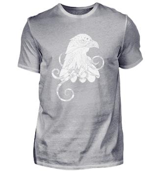 Mandala Eagle Yoga Shirt