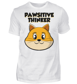 pawsitively cat thinker