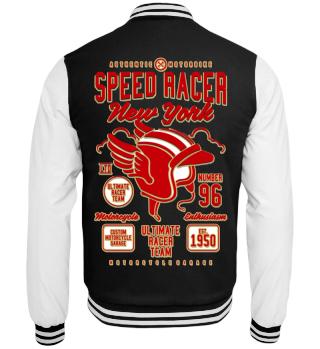 Herren College Jacke Speed Racer Ramirez