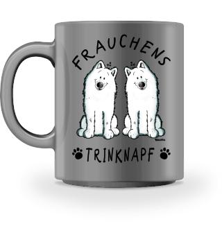 Frauchens Trinknapf Samojede Tasse