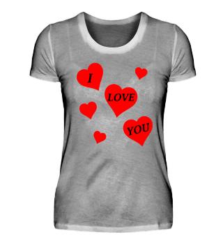 Ich liebe dich Valentin's Tag Liebe