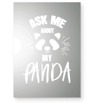 Ask me about my panda.