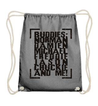 MY HORROR BUDDIES - black