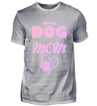 Hunde Mama Knochen Herz Pfotenabdruck