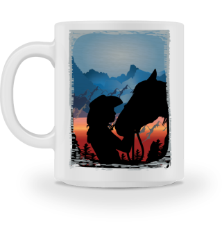 Westernreiten Reining Reiter Pferdeliebe Geschenk