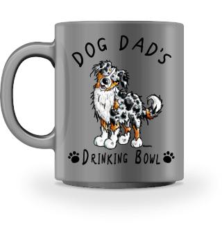 Australian Shepherd Dog Dad's Bowl I Mug