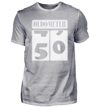 50. Geburtstag 50 Jahre Oldometer