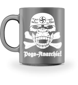 Gorilla Stahlhelm Pogo-Anarchie