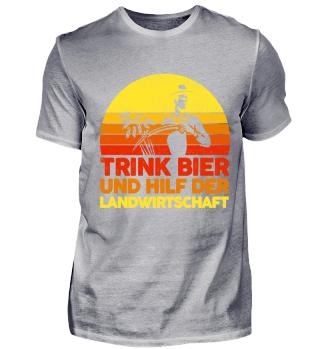 Landwirtschaft · trink Bier