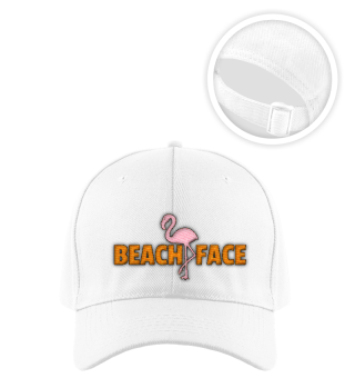 BEACH FACE BASECAP by WOOF SHIRT