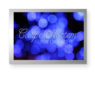 Carpe Noctem - Blau