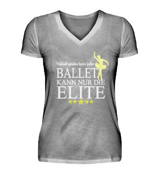 Ballet kann nur die Elite - white