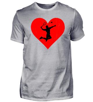Badminton Heart
