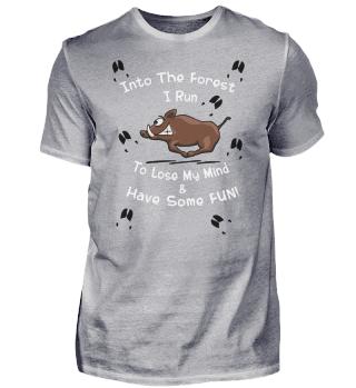 Forest Run Fun Sauwild   Wildschwein Boar