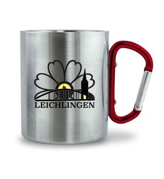 LEICHLINGEN Edelstahl Karabiner Cup