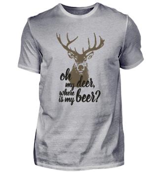 Oh my deer where is my beer?