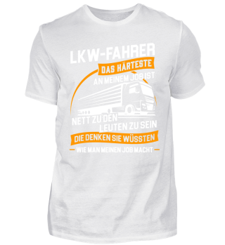 Trucker LKW-Fahrer Fernfahrer Nett sein