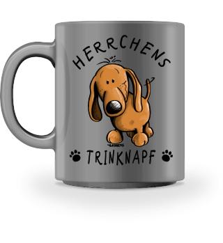 Herrchens Trinknapf Dackel Tasse