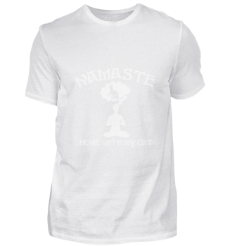 Namaste Home with my Cat Yoga Kitty Gift