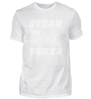Railway steam locomotive conductor
