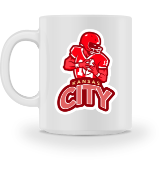 Kansas City Football - Mug
