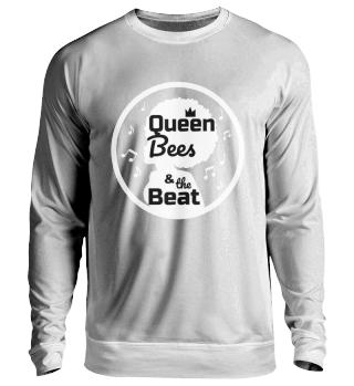Queen Bees Unisex Sweatshirt schwarz
