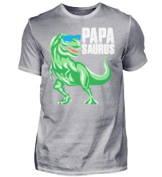Papasaurus Dinosaurier Papa Vater Dad