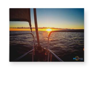 Sonnenuntergang auf der Ostsee - Poster A3