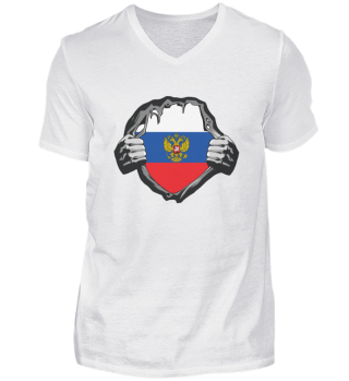 RUSSIAN FLAG POWER - Funny Russian Gift