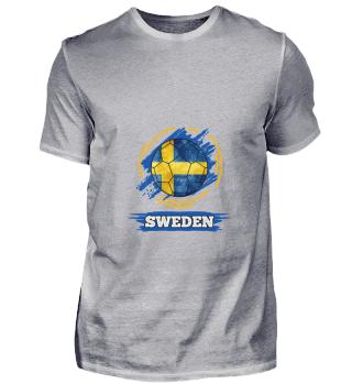 D003-0029 Country Flag Sweden / Schweden