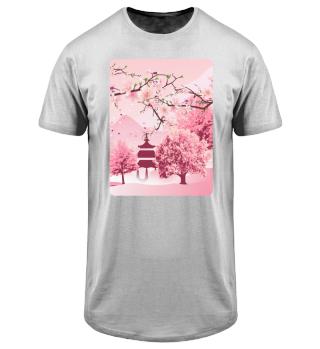 Japanische Kirschblüte Japanische Kunst