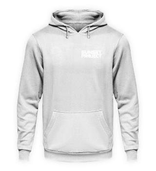 Unisex Hoodie mit weißem Logo
