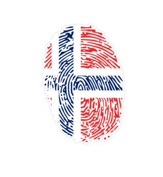 Norwegen - It's In My Dna Fingerabdruck