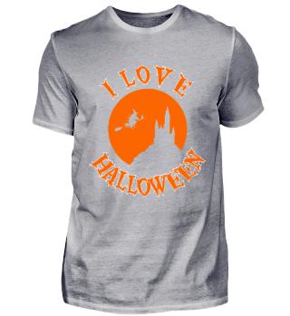 HALLOWEEN Vollmond T-Shirt