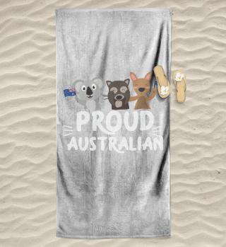 Australien Stolzer Australier Koala Käng