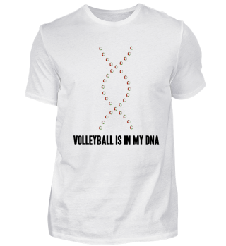 Volleyball Is In My DNA T-Shirt Gift