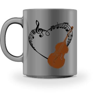 Für Kontrabass Musiker im Orchester