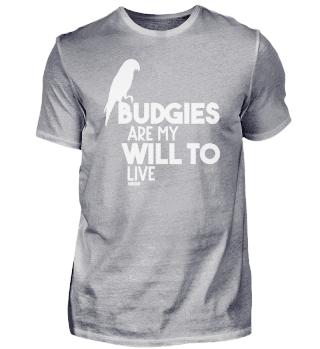 Budgie holder saying