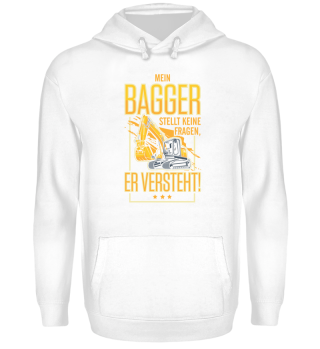 Bagger Baustelle · Er versteht