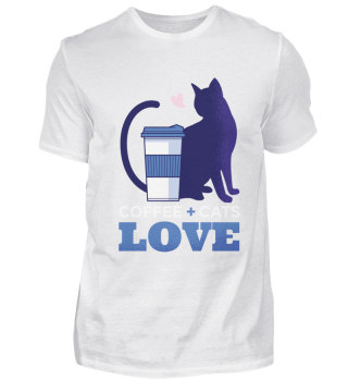 Coffee and Cats - Love