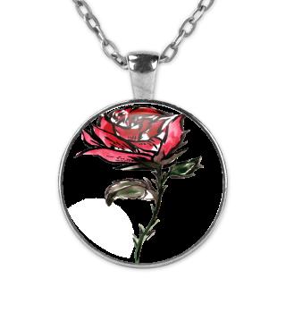 Rote Rose Valentinstag Geschenk idee